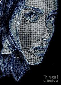 Digital Art - Hidden Face by Rafael Salazar