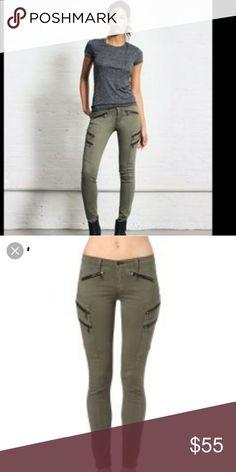 8182d5ae40 I just added this listing on Poshmark: Rag and Bone Lariat Army Green  Zipper Jeans. #shopmycloset #poshmark #fashion #shopping #style #forsale # rag & bone # ...