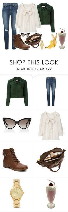 """""""Moi je m'appelle Lolita"""" by sasilovesyou ❤ liked on Polyvore featuring Yves Saint Laurent, Paige Denim, Christian Dior and Michael Kors"""