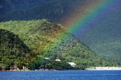 This was off the coast of Dominica. Took this picture on my 10 day Catamaran trip sailing the Leaward Islands.