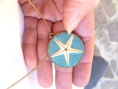 NECKLACE STARFISH SAND real collana sabbia vera di SissiHand