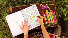 New coloring book from Katie Daisy
