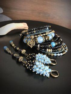 Bracelets for Women – Fine Sea Glass Jewelry Bead Jewellery, Gemstone Jewelry, Beaded Jewelry, Jewelery, Handmade Jewelry, Jewelry Crafts, Jewelry Art, Jewelry Bracelets, Jewelry Design