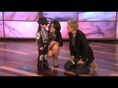 4 year old chinese little boy dancing like Michael Jackson on the Ellen Degeneres show