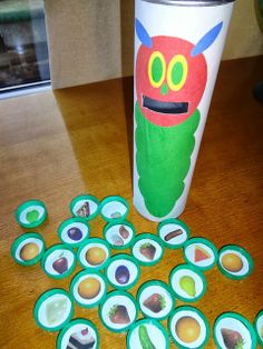 The Very Hungry Caterpillar game.