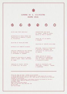 Vi presento il menu per il cenone di San Silvestro al ristorante Duomo www.cicciosultano.it
