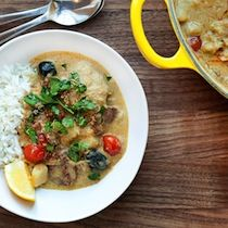 Chicken Curry from Fat Rice in Chicago, IL    http://www.tastingtable.com/entry_detail/chefs_recipes/13079#pinterest