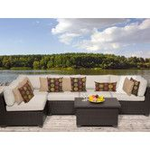 Found it at AllModern - Belle 6 Piece Deep Seating Group with Cushion