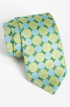I just dig the colors. Ted Baker London Woven Silk Tie. Nordstrom.