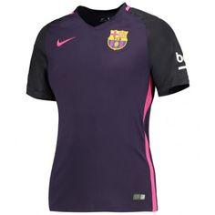 Maillot Barcelone Femme 2016 2017 Extérieur Polo Shirt, Polo Ralph Lauren, Mens Tops, Shirts, Fashion, Soccer Shirts, Moda, Polos, Fashion Styles
