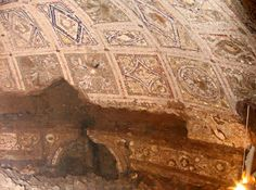 Lupercale - the cave where Romulus and Remus were fed by Acca Laurentia, discovered in 2007.