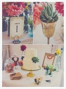 How to design your vintage wedding in your lunch break!