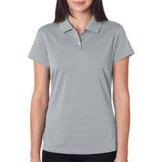 adidas Golf Ladies' ClimaLite Textured Short-Sleeve Polo Shirt - http://www.darrenblogs.com/2017/03/adidas-golf-ladies-climalite-textured-short-sleeve-polo-shirt/