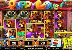 Игровой автомат Puppy Love онлайн с выводом денег  Компания Betsoft создала игровой аппарат Puppy Love для любителей собак. Этот онлайн автомат предоставляет много возможностей для вывода денег. Ведь в нём есть респины, дополнительные вращения и бонусная игра. Также вы будете получать реальные выплаты, собирая комбинации на 20 линиях.