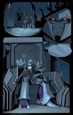 Megatron x Starscream