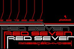 Red Seven by Sharkshock on @creativework247