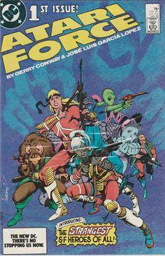 Atari Force No. 1  1983 by TheSamAntics on Etsy