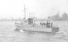 "A photo of the Coast Guard enforcing Prohibition.   [The CG-100, one of the 203 75-foot patrol boats built specifically for Prohibition enforcement duties.  They were known as the ""Six-Bitters"" and entered service between 1924 and 1925.  They had a top speed of 15 knots, slower than most of the rum-runners they were up against but were known as sturdy, well-built craft capable of off-shore operations.]A photo of the Coast Guard enforcing Prohibition."