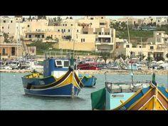 Marsaxlokk, the Maltese village with the unique fishing boats - YouTube