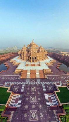 Buetiful architecture, axardham temple, new Delhi, India
