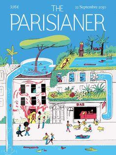 The Parisianer Utopies 2050 : l'expo qui imagine un Paris futuriste