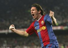 Messi netted a stunning hat-trick in a 3-3 draw against Real Madrid in 2007