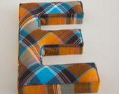 Fabric Letter e or Letter G