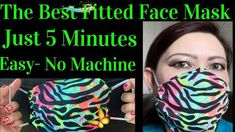 Super Cute Face Mask For Kids- Easy- No Sewing Machine- How To Make Face Mask For Kids/ Adults- Fast Super Cute Face Mask For Kids- Easy- No Sewing Machine- How To Make Face Mask For Kids/ Adults- Fast - YouTube<br> Death Eater Mask, Face Masks For Kids, Plyometric Workout, Vertical Garden Diy, Cute Faces, Diy Face Mask, Survival Skills, New Trends, Burn Calories