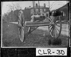 Athens, 1908. The only double-barreled cannon in the world.--from field notes