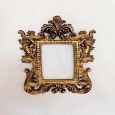 Espelho Africa Ouro
