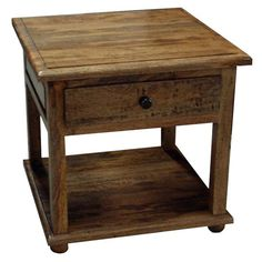 Provence Fruitwood Lamp Table