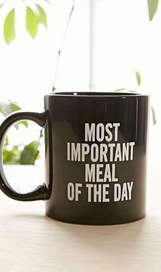 Most important meal of the day