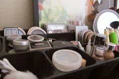 Simple Makeup Organization