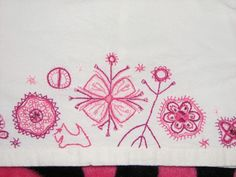 Archaic Estonian embroidery on dress