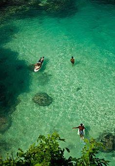 paradise in the Bali: Suluban Beach