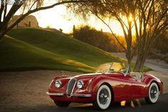 (7) Fancy - 1954 Jaguar XK120SE Roadster
