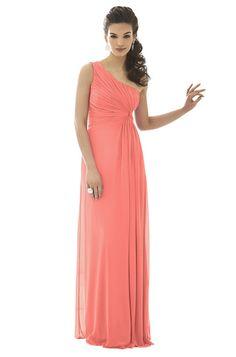 Coral Bridesmaid Dress option