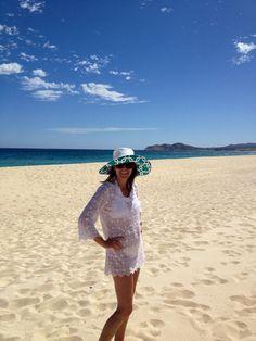 Beach time! Brim Custom Sunhat by Barbara Cobb! Custom Hats 4e48bd01e815