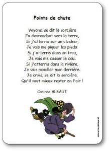 Comptine-Points-de-chute French Class, French Lessons, Halloween 2017, Halloween Kids, Teaching Kindergarten, Preschool, French Poems, Camp Songs, French Tips