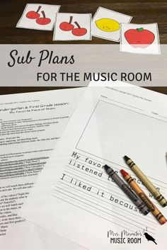 Looking for sub plans for the music classroom? This set comes with 13 editable lessons, materials, and more!