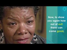 Watch: Maya Angelou - From Silence of Rape to Voice of Compassion - YouTube