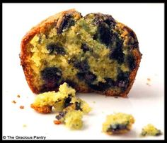 Clean Eating Blueberry Corn Muffins (Click Pic for Recipe) I completely swear by CLEAN eating!!  To INSANITY and back....  One Girls Journey to Fitness, Health, & Self Discovery.... http://mmorris.webs.com/