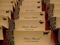 How Did You Indicate Meal Selection On The Place Card Advice