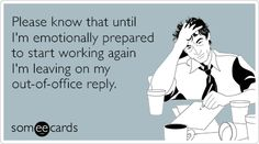 Don't forget to turn off your out of office reply