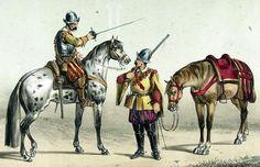 Coraza y Dragon españoles. Siglo XVII
