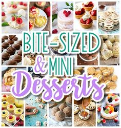Looking for the prettiest little bite-sized treats recipes, individual mouth-watering desserts and mini decadent refreshmentsfor your party–plus, EASY?  I don't …