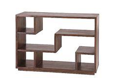 Tao walnut bookcase