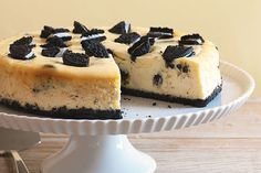 Cheesecake y galletas OREO... dos favoritos que se combinan para lograr un…