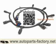 5e6a5310d98001ee4a96368e748db677 diesel glow long yue alternator repair harness pigtail for ford f250 f350 White F350 6.4 at gsmx.co