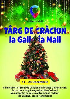 Târg de Crăciun la Galleria Mall - https://goo.gl/bvdtE8